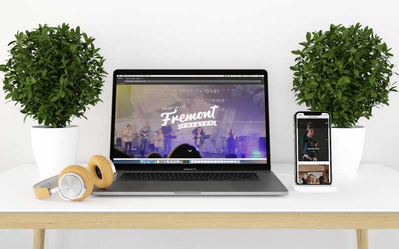 Church website designer